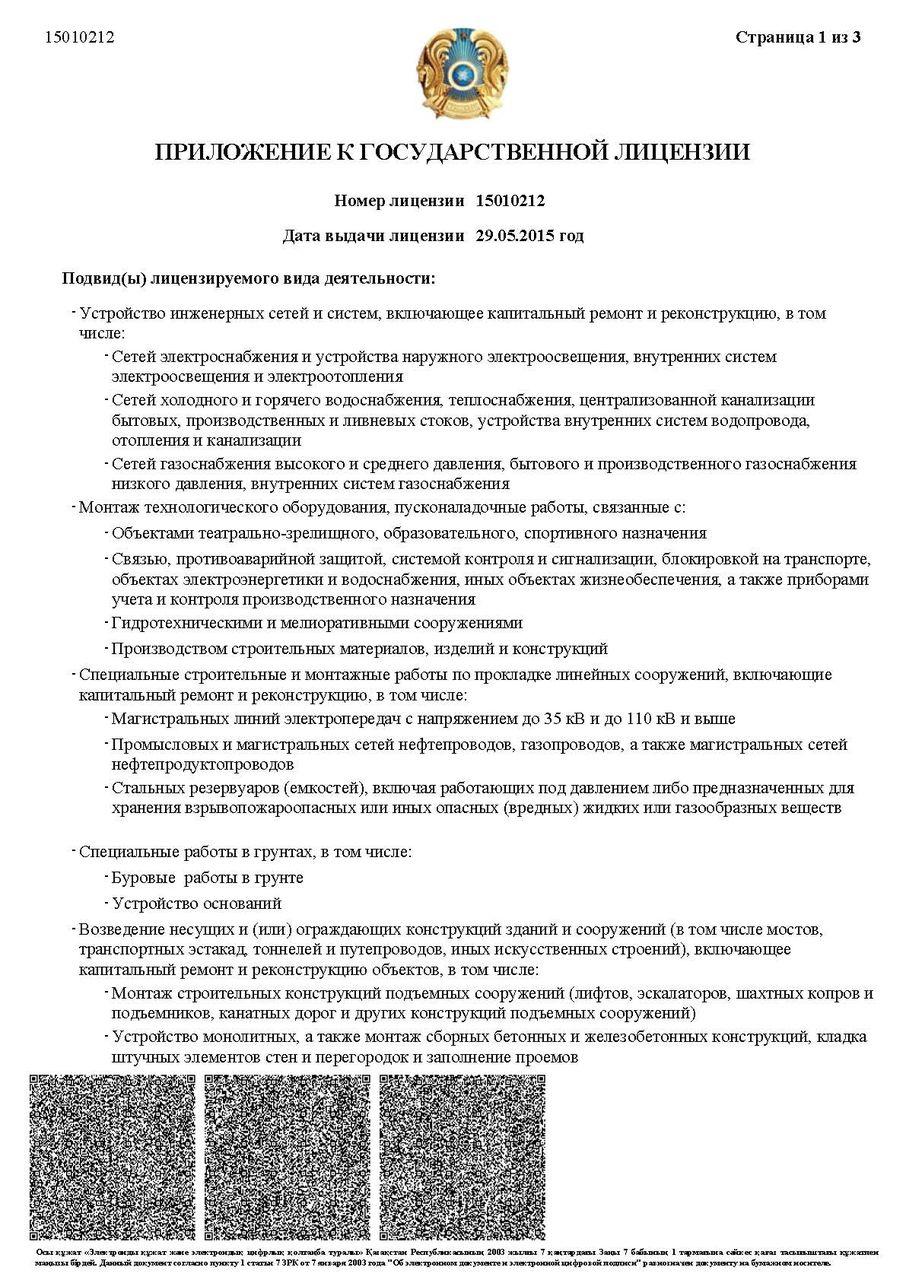 лицензия на строительно монтажные работы